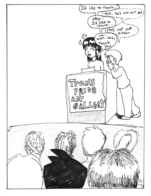 trans comic
