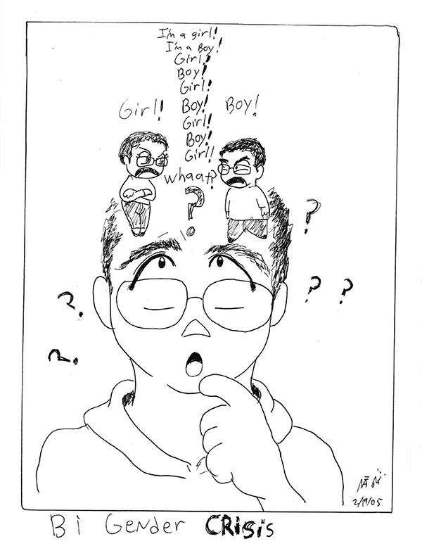 bi gender comic